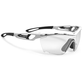 Rudy Project Tralyx Slim Glasses white gloss - impactx photochromic 2 black